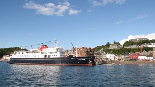 Herbridean Princess ship on a luxury cruise in Scotland.