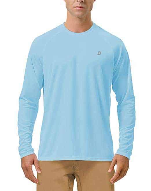 Roadbox Men's Long Sleeve Sun Protection Dri-fit T-Shirt