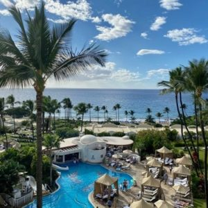 Maui luxury beach resort